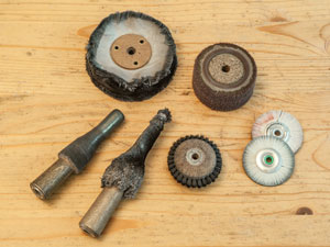 polishing tools - buffing wheels